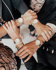 Encircled hands with Michele Watches