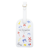 Les Georgettes Travel Tag