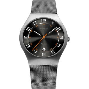Gents Titanium Grey Watch
