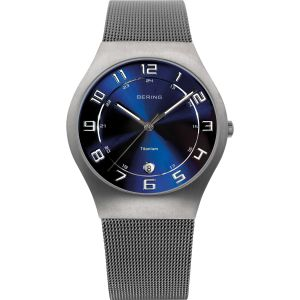 Gent's Milanese Grey Titanium Collection Watch