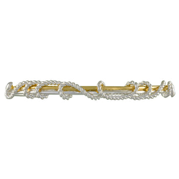 Sterling Silver and 22K Gold Vermeil Bracelet