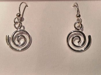 "Sterling Silver ""Act 1"" Earrings"
