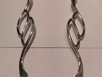 "Sterling Silver ""Quiz"""" Earrings"