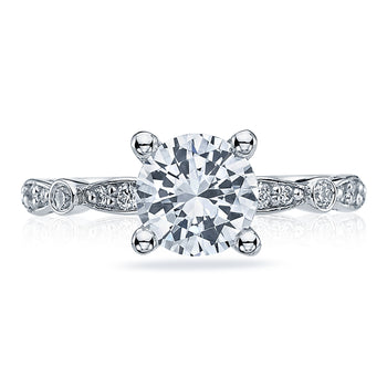 Tacori Sculpted Crescent Semi-Mount
