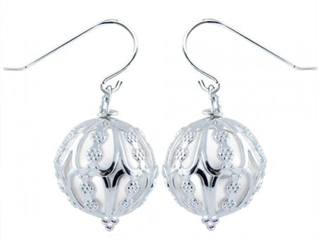Caged Windsor Pearl Earrings