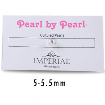 5+MM SINGLE PEARL BY PEARL