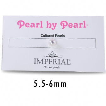5.5+ MM SINGLE PEARL BY PEARL