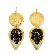 Rorschach Mini Teardrop Earrings-daggers