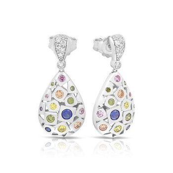 Belle Etoille Byzantine Multi-Color Earrings