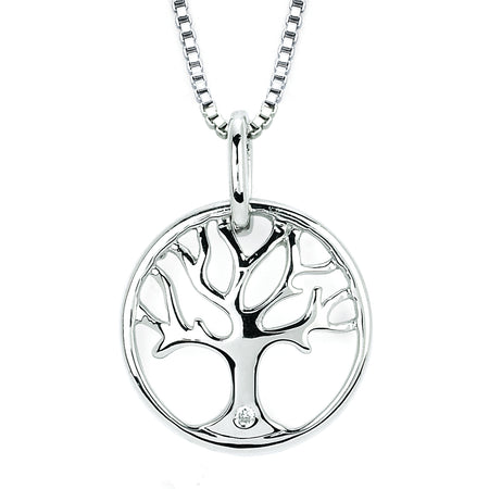 Diva Diamonds® Tree Of Life Pendant