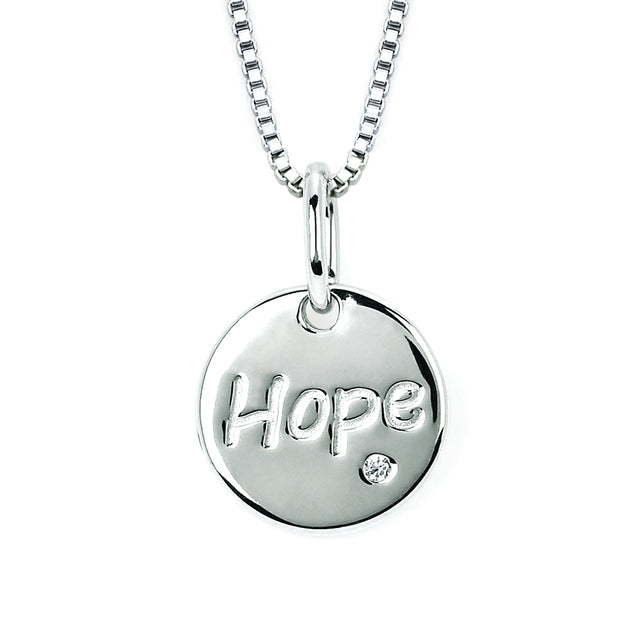 Diva Diamonds® Hope Disc Pendant