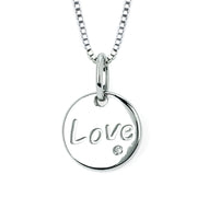 Diva Diamonds® Love Disc Pendant