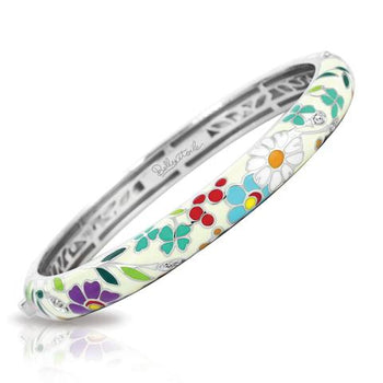 Belle Etoile Flower Garden Bangle