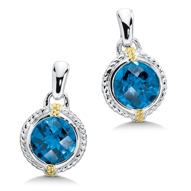 London Blue Topaz Fashion Earrings