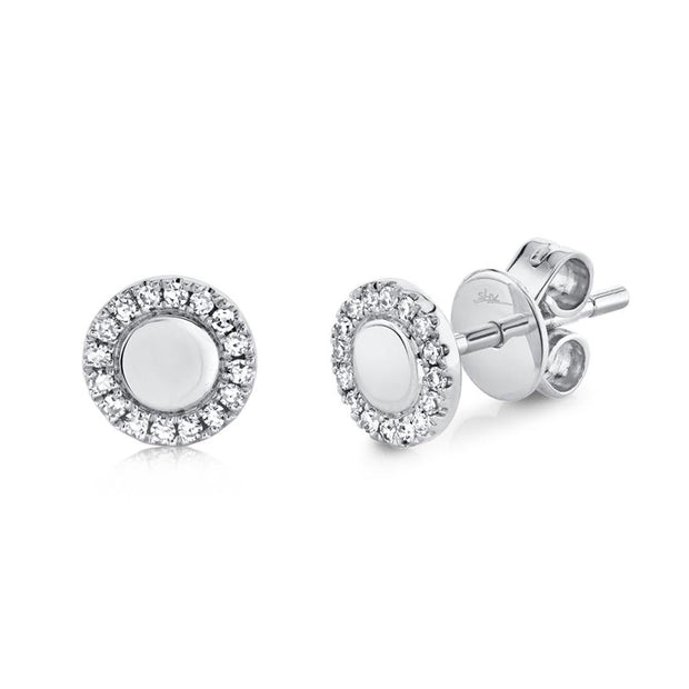 Diamond Stud Earrings .10ct