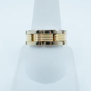 Spark Link Band 18K Yellow Gold Band Size 9