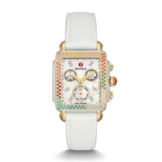Deco Madison Two-Tone Carousel Watch