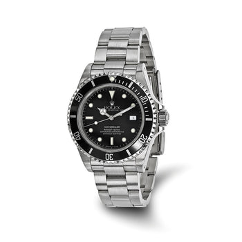 Pre-Owned Independently Certified Rolex Steel Mens Sea Dweller Black Watch
