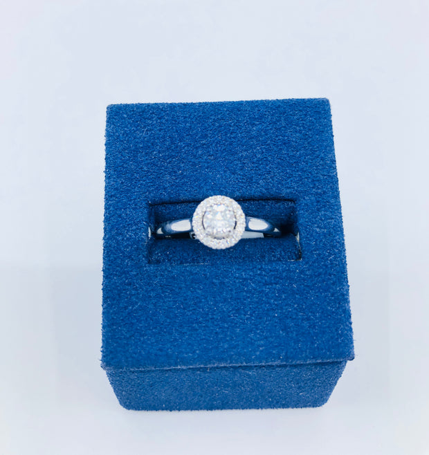 Double Love Engagement Ring