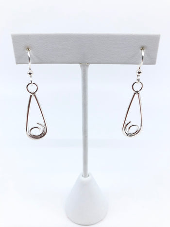 Sterling Silver Desire Earrings