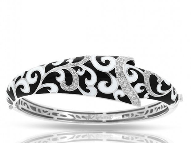 Contessa Black Bangle