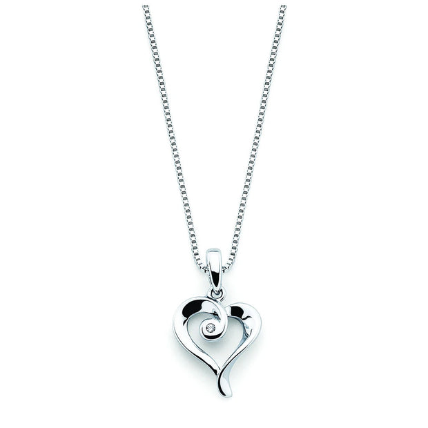 Diva Diamonds® Heart Pendant