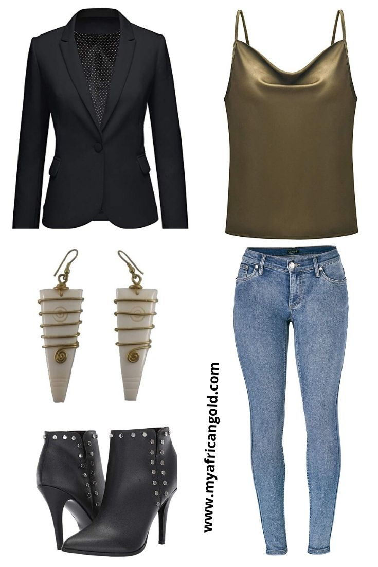 Women's fall date night outfit idea 1