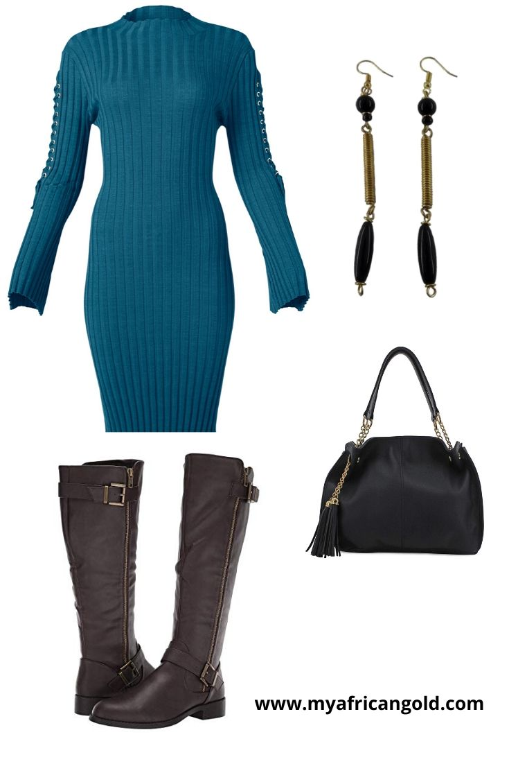 Women's fall date night outfit idea 2