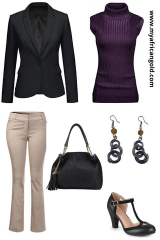 Women's fall outfit idea 1