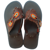Girl African Sandals - MyAfricanGold - Authentically African