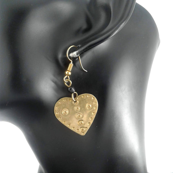 Heart Earrings Dangle