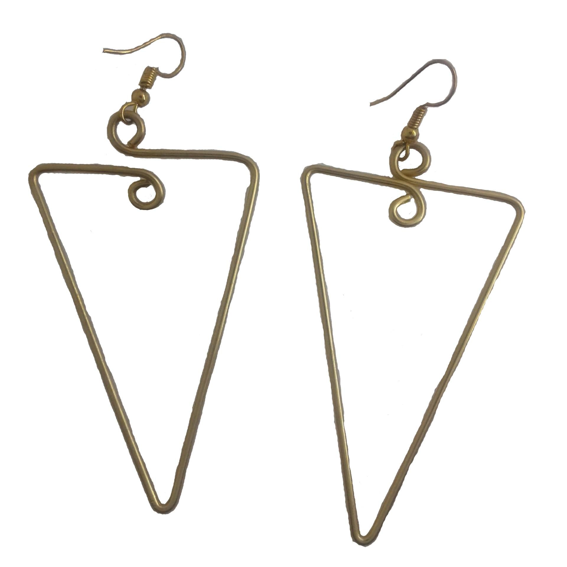 Long dangle earrings