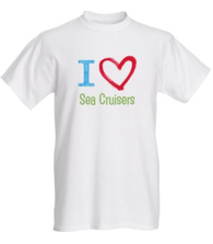I ♥ Sea Cruisers Sketch T-Shirt
