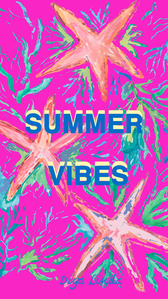 Summer Vibes with Pink Background phone download