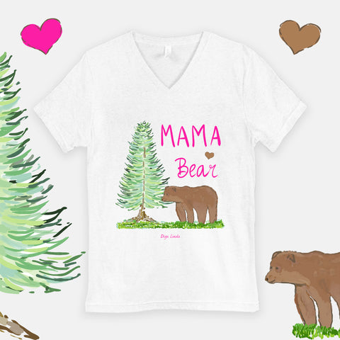 Mama Bear Statement graphic tee by DIga Linda