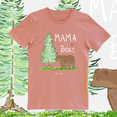 Mama Bear Sunset color by Diga Linda