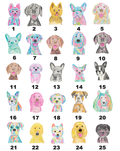 Personalized Dog Print - Diga Linda