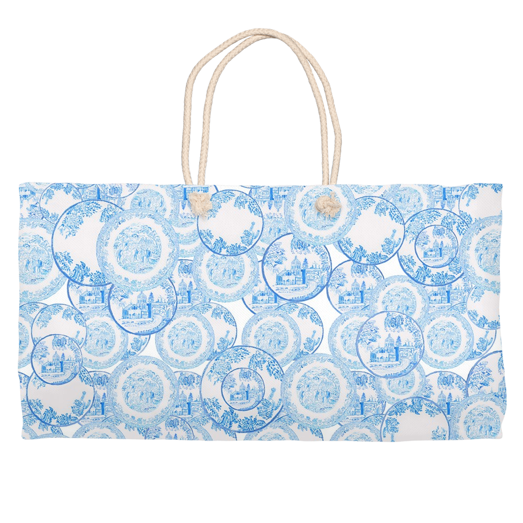 Transfer Ware China Weekender Tote Bag