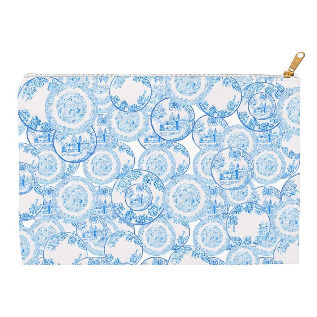 Transfer ware china clutch
