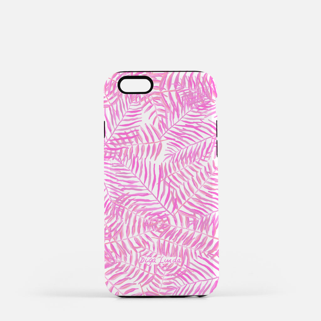 Tough Phone Case in the Palm Beach Print - Diga Linda