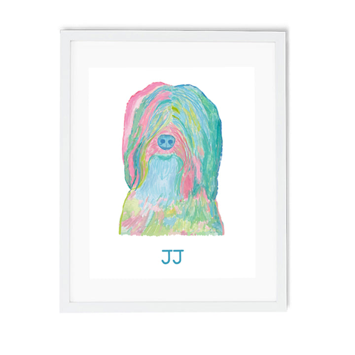 Custom Dog Illustration - Diga Linda