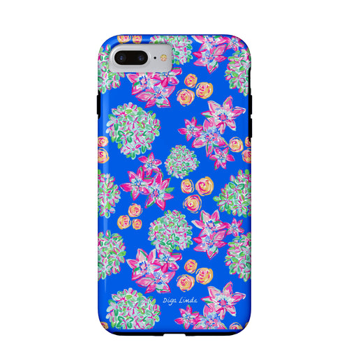 Tough Phone Case in the English Garden Print