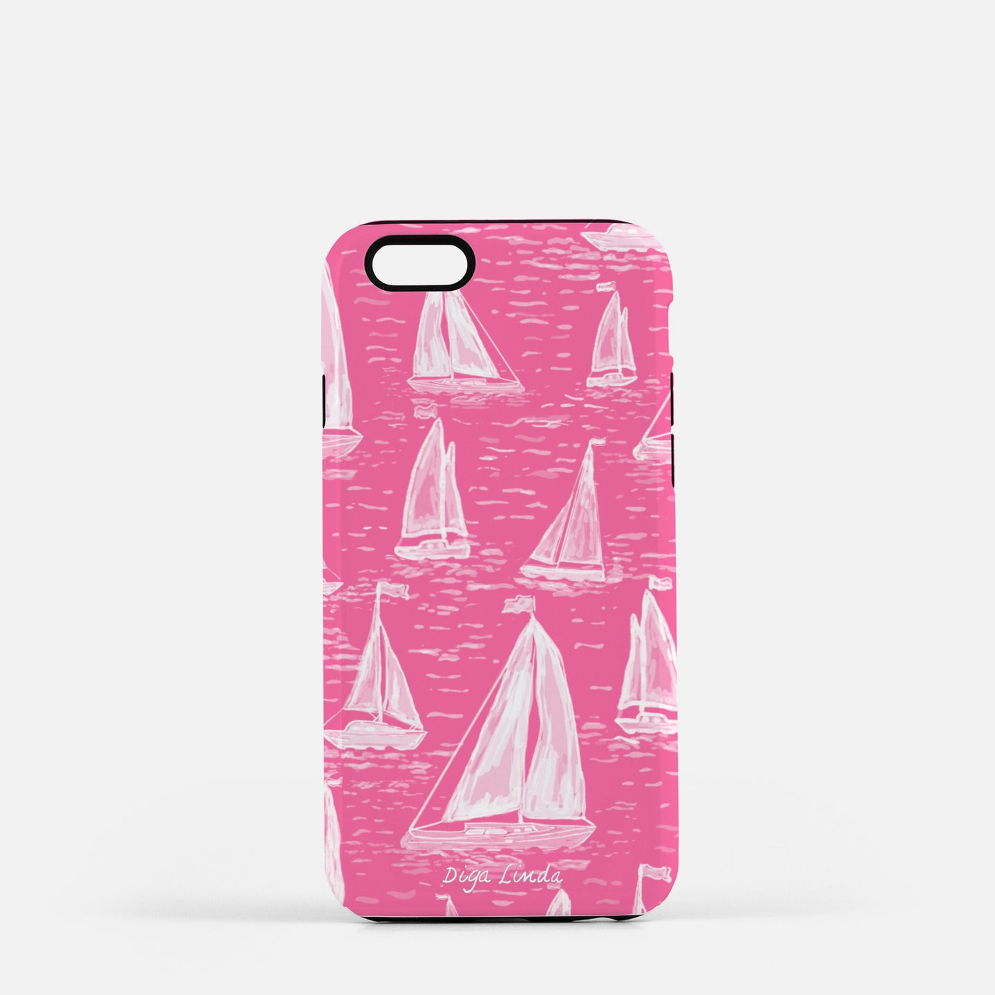 Tough Phone Case in The Happy Explorer Print - Diga Linda
