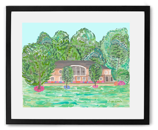 """Middle School"" fine art print - Diga Linda"