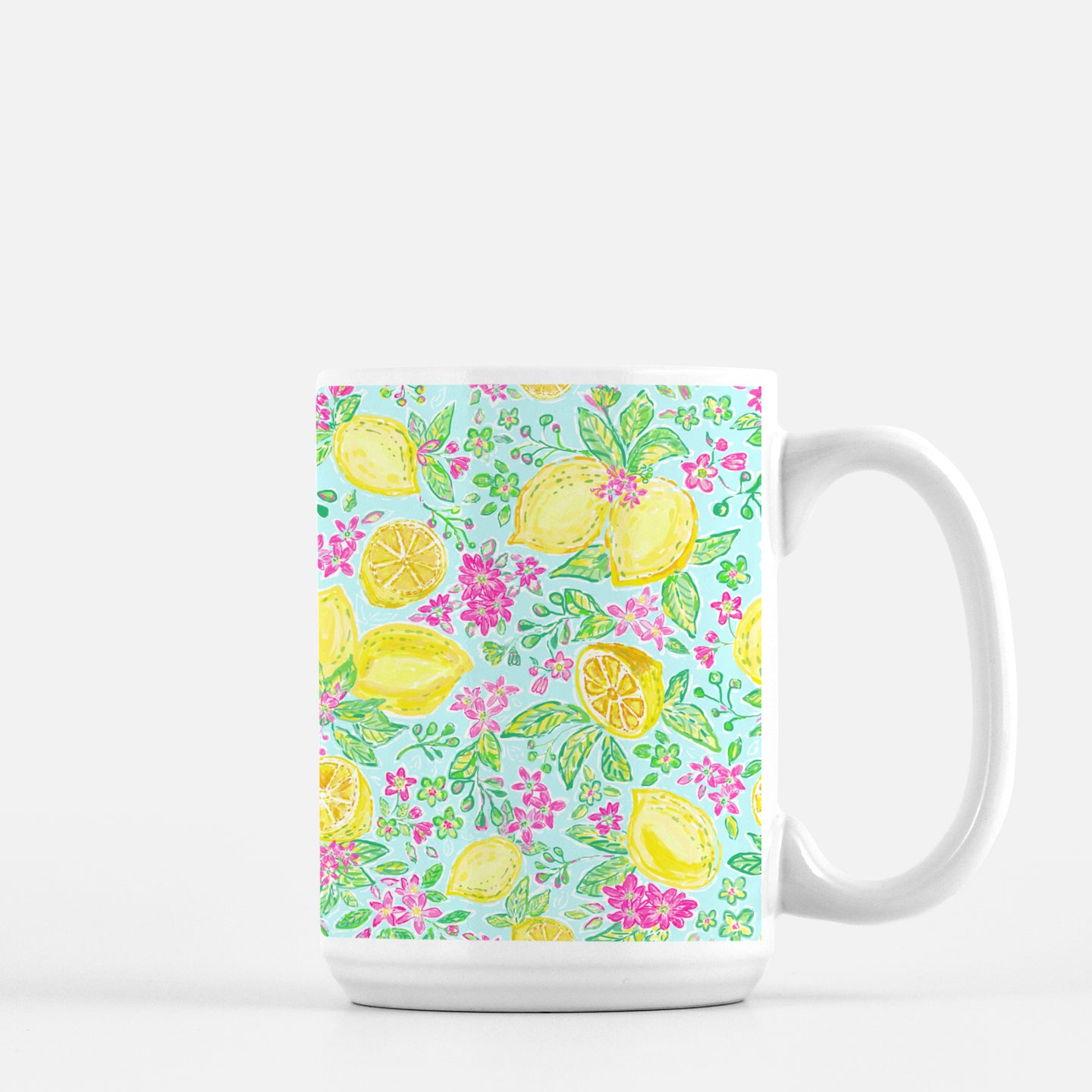 Mug in the lemon Joy Print - Diga Linda