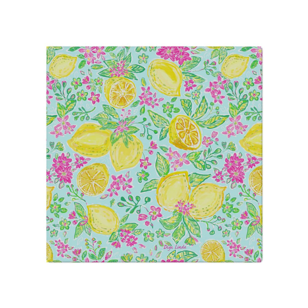 Lemon Joy Cloth Napkins - Diga Linda