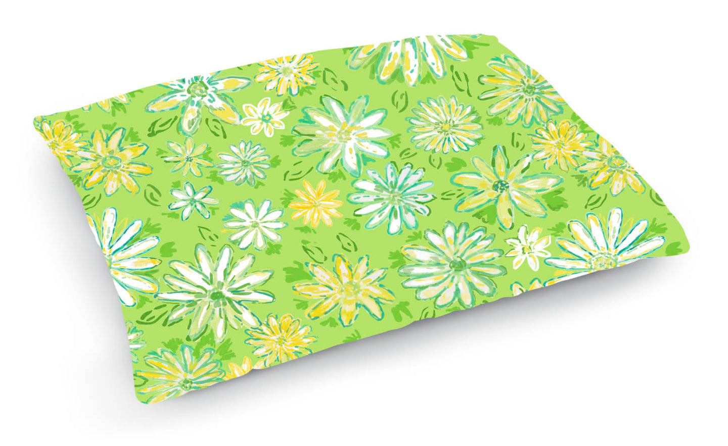 Wild Daisies Pet Bed - Diga Linda