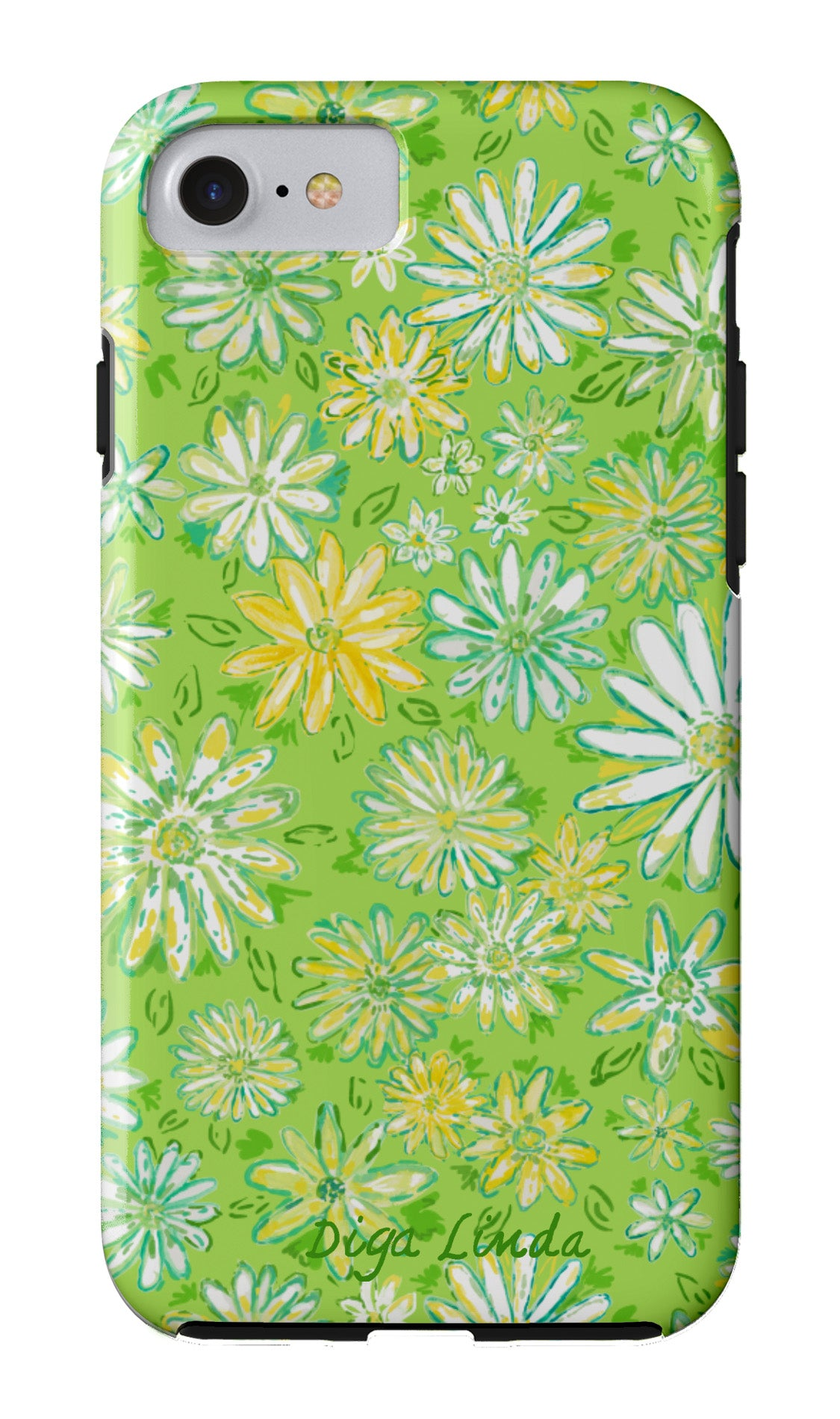 Wild Daisies Tough Phone Case - Diga Linda