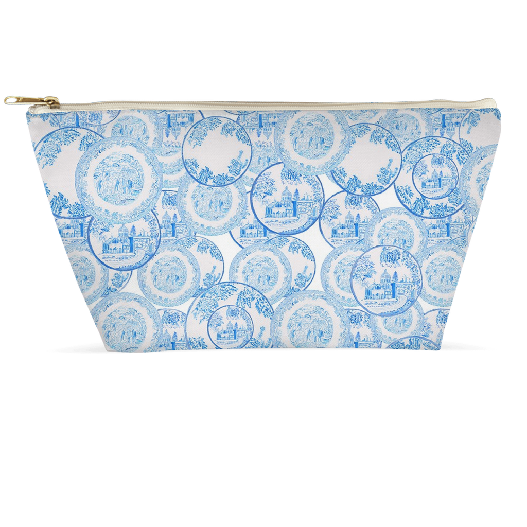 Transfer Ware China Large Clutch - Pouch