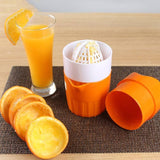 Delicious Manual Juicer Citrus with Strainer and Container